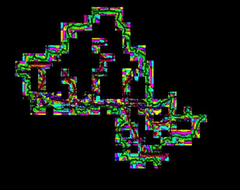 Uranthorium, in dem Labore abzeichnen